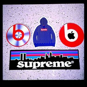 SUPREME  x Patagonia Stickers Pack